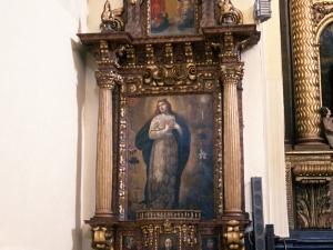 Monasterio de Santa Catalina. Retablo de la Virgen
