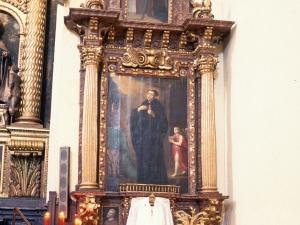 Monasterio de Santa Catalina. Retablo de San Nicolás Tolentino