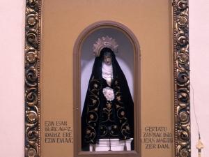 Monasterio de Santa Catalina. Altar de la Dolorosa