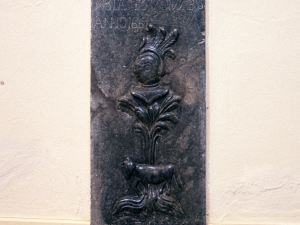 Monasterio de Santa Catalina. Lápida