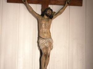 Monasterio de Santa Catalina. Escultura. Cristo Crucificado