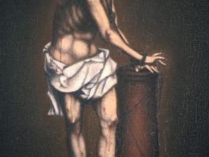 Monasterio de Santa Catalina. Pintura. Cristo atado a la columna