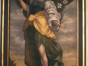 Monasterio de Santa Catalina. Pintura. San Gabriel
