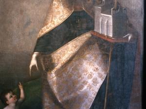 Monasterio de Santa Catalina. Pintura. San Agustín