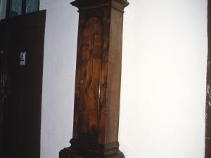Monasterio de Santa Catalina. Reloj de pared