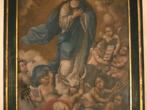 Monasterio de Santa Catalina. Pintura. Inmaculada Concepción