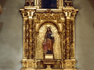 Iglesia parroquial de Nuestra Señora de la Asunción. Retablo de San José