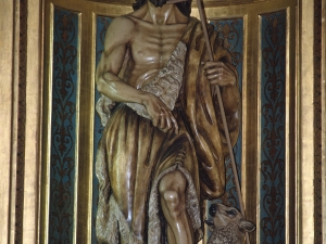 Ermita de San Juan de Telleriarte. Escultura. San Juan Bautista