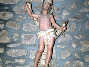 Ermita de San Miguel de Motxorro. Escultura. San Sebastián