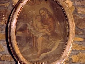 Ermita de San Miguel de Motxorro. Pintura. San José
