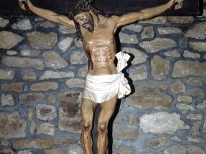Ermita de San Miguel de Motxorro. Pintura. Cristo Crucificado