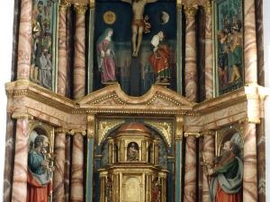 Iglesia parroquial de la Invención de la Cruz. Retablo de la Invención de la cruz