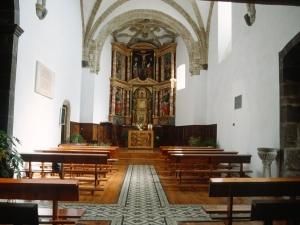 Iglesia parroquial de la Invención de la Cruz. Retablo mayor