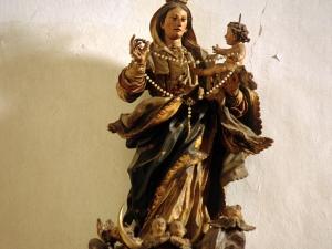 Iglesia parroquial de San Andrés. Escultura. Virgen del Rosario