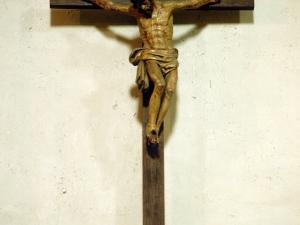 Iglesia parroquial de San Andrés. Escultura. Cristo Crucificado