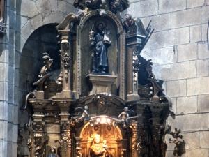Iglesia parroquial de San Nicolás de Bari. Retablo de la Virgen del Rosario
