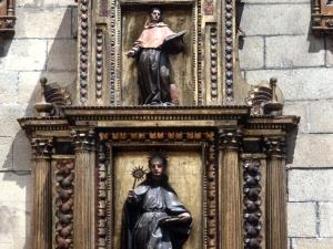 Iglesia parroquial de San Nicolás de Bari. Retablo de San Ignacio de Loyola