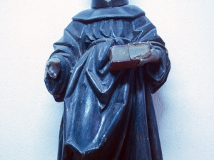 Iglesia parroquial de San Nicolás de Bari. Escultura. San Antonio