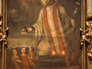 Iglesia parroquial de San Nicolás de Bari. Pintura. San Fernando