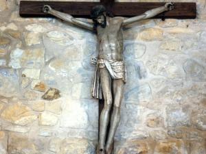 Ermita de San Juan de Antilla. Escultura. Cristo Crucificado