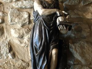 Ermita de San Juan de Antilla. Escultura. San Juan Bautista