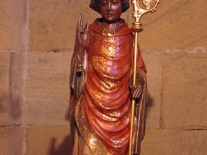Iglesia parroquial de San Nicolás de Bari. Escultura. San Nicolás de Bari