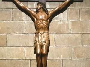 Iglesia parroquial de San Nicolás de Bari. Escultura. Cristo Crucificado