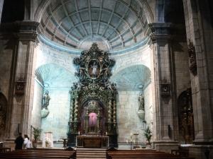 Iglesia parroquial de San Nicolás de Bari. Retablo mayor