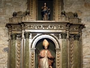 Iglesia parroquial de San Nicolás de Bari. Retablo