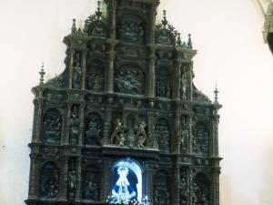 Santuario de Nuestra Señora de Itziar. Retablo de la Virgen de Itziar