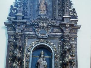 Santuario de Nuestra Señora de Itziar. Retablo de la Virgen del Rosario