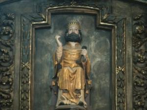 Santuario de Nuestra Señora de Itziar. Escultura. San Pedro