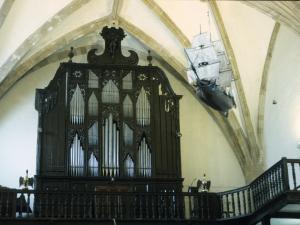 Santuario de Nuestra Señora de Itziar. Órgano