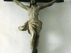 Santuario de Nuestra Señora de Itziar. Escultura. Cristo Crucificado