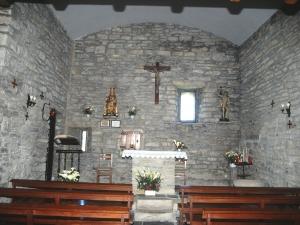 Ermita de Elorriaga en Itziar. Altar