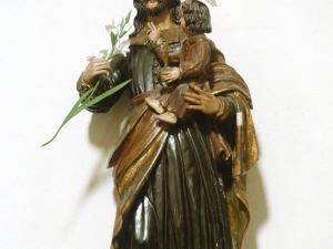 Iglesia parroquial de San Esteban. Escultura. San José