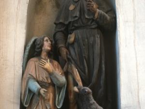 Iglesia parroquial de Nuestra Señora de la Asunción. Escultura. San Roque