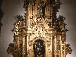Iglesia parroquial de Nuestra Señora de la Asunción. Retablo del Nazareno