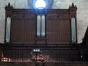 Iglesia parroquial de Nuestra Señora de la Asunción. Órgano