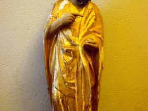Iglesia parroquial de Nuestra Señora de la Asunción. Escultura. San Juan Bautista