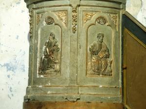 Ermita de San Andrés. Púlpito