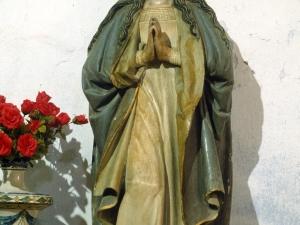 Ermita de San Andrés. Escultura. Inmaculada Concepción