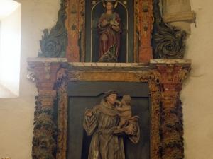 Ermita de la Andra Mari de Esozia. Retablo de San Antonio