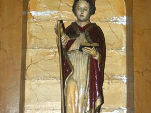 Ermita de San Emeterio y San Celedonio. Escultura. San Marcial