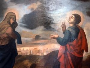 Ermita de San Roque. Retablo del Calvario