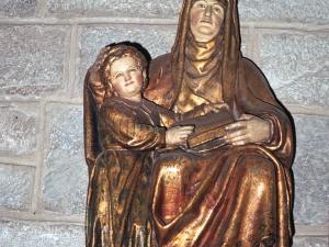 Iglesia parroquial de San Pedro. Escultura. Santa Ana