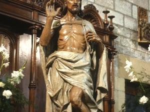 Iglesia parroquial de San Pedro. Escultura. Cristo Crucificado