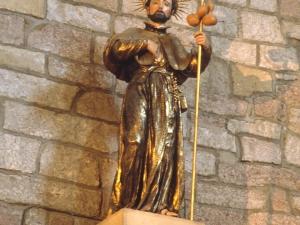 Iglesia parroquial de San Pedro. Escultura. San Francisco