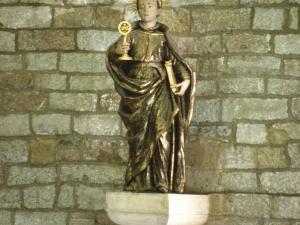 Iglesia parroquial de San Pedro. Escultura. San Ignacio de Loyola