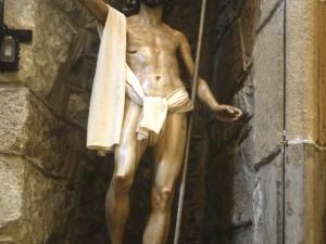 Iglesia parroquial de San Pedro. Escultura. Cristo resucitado